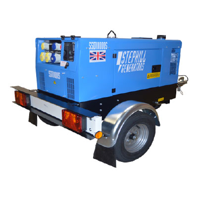 10 Kva Silenced Diesel Generator (Towable)